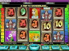 Alice in Wonderland slot77.com OpenBet 3/5