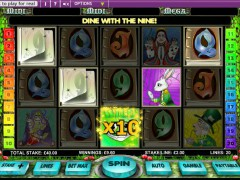 Alice in Wonderland slot77.com OpenBet 5/5