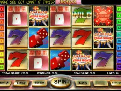 Vegas Nights slot77.com OpenBet 1/5