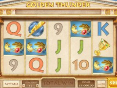 Golden Thunder - Cayetano Gaming