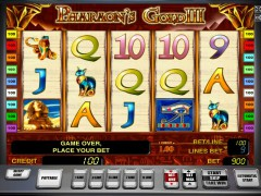 Pharaohs gold III slot77.com Greentube 1/5