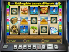 Golden Treasure of Pharaoh slot77.com Novoline 1/5