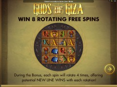 Gods Of Giza - Microgaming